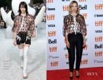 Lea Seydoux In Louis Vuitton - 'Kursk' Toronto International Film Festival Premiere
