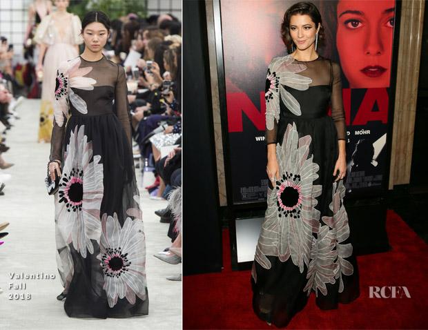 Mary Elizabeth Winstead In Valentino - 'All About Nina' LA Film Festival Gala Screening