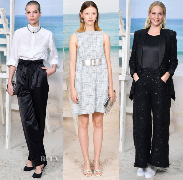 Front Row @ Chanel Spring 2019