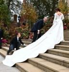 Princess Eugenie of York Weds Jack Brooksbank In Peter Pilotto