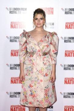 Hari Nef In Simone Rocha - 'Assassination Nation' London Premiere