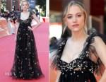 Maika Monroe In Valentino - 'Hot Summer Nights' Rome Film Festival