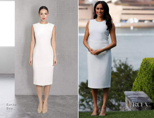 meghan duchess of sussex in karen gee admiralty house meghan duchess of sussex in karen gee