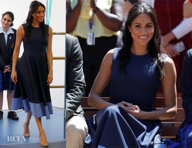 Meghan, Duchess of Sussex In Roksanda & Martin Grant - Australia Tour Day 4