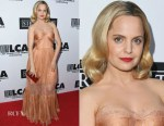 Mena Suvari In Maria Lucia Hohan - Last Chance For Animals' Hosts Annual Celebrity Benefit