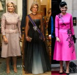 Queen Maxima of the Netherlands State Visit To London