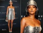 Rihanna In Atelier Versace - Fenty Beauty by Rihanna Anniversary Event