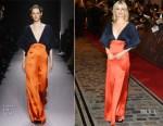 Alison Sudol In Lanvin - 'Fantastic Beasts The Crimes Of Grindelwald' World Premiere