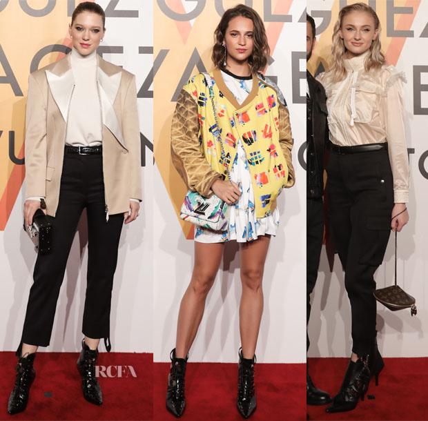 Louis Vuitton Unveil The 'Volez, Voguez, Voyagez' Shanghai Exhibition