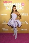 Fashion Blogger Catherine Kallon feature Ariana Grande In Christian Siriano - Billboard Women In Music 2018