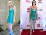 Fashion Blogger Catherine Kallon features Dua Lipa In Natasha Zinko - 103.5 KISS FM's iHeartRadio Jingle Ball 2018