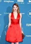 Emma Stone In Louis Vuitton - 2018 British Independent Film AwardsEmma Stone In Louis Vuitton - 2018 British Independent Film Awards
