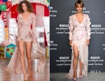 Fashion Blogger Catherine Kallon feature the Halle Berry In Aadnevik - 2019 Pirelli Calendar Launch Gala