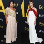 Fashion Blogger Catherine Kallon feature the Netflix 'Roma' Premiere