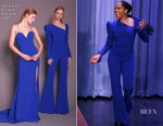 Fashion Blogger Catherine Kallon features Regina King In Christian Siriano - The Tonight Show Starring Jimmy Fallon