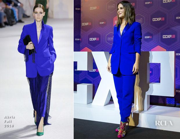 Fashion Blogger Catherine Kallon feature Sandra Bullock In Akris - Netflix 'Bird Box' Comic-Con.jpg