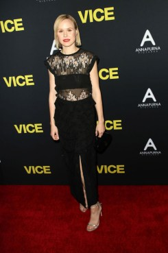 Fashion Blogger Catherine Kallon feature the 'Vice' World Premiere