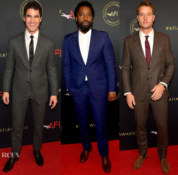2019 AFI Awards Menswear Red Carpet Roundup