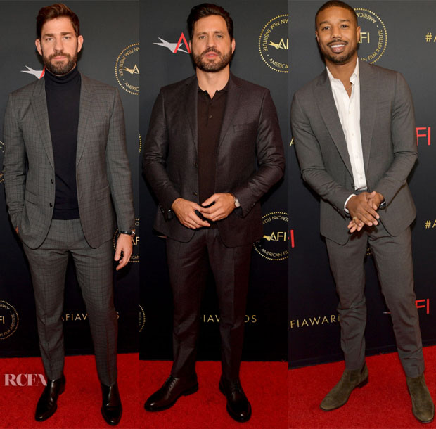 2019 AFI Awards Menswear Red Carpet Roundup 3