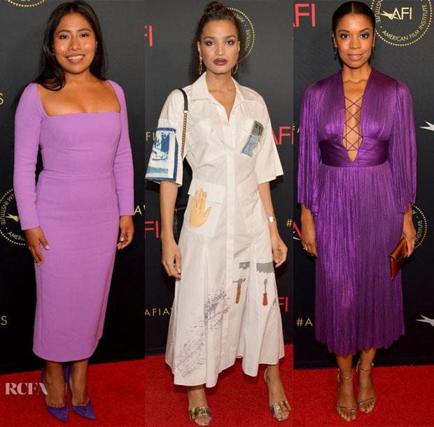 Fashion Blogger Catherine Kallon Features 2019 AFI Awards Red Carpet Roundup