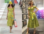 Fashion Blogger Catherine Kallon features Camilla Belle In Michael Kors Collection - Access Hollywood