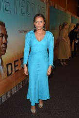 Fashion Blogger Catherine Kallon features Carmen Ejogo In Hellessy - Premiere Of HBO's 'True Detective' Season 3