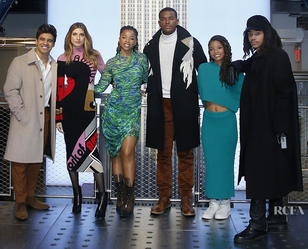 Fashion Blogger Catherine Kallon features Cast Of 'Grown-ish' Visits The Empire State Building