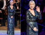 Fashion Blogger Catherine Kallon features Helen Mirren In Escada - 162nd Academy Of Music Anniversary Concert & Ball