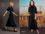 Fashion Blogger Catherine Kallon features Jodi Balfour In Sonia Rykiel - Premiere Of HBO's 'True Detective' Season 3