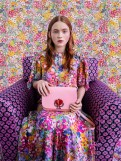 Fashion Blogger Catherine Kallon features Kiki Layne, Sadie Sink & Julia Garner for Kate Spade New York Spring 2019