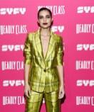 Fashion Blogger Catherine Kallon features Maria Gabriela de Faria In Flor et.al - SYFY's New Series 'Deadly Class' Premiere Screening