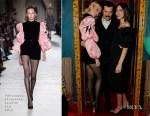 Fashion Blogger Catherine Kallon features Poppy Delevingne In Philosophy di Lorenzo Serafini - Roger Vivier London New Boutique Opening
