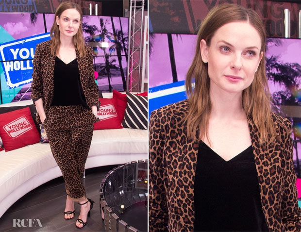 Fashion Blogger Catherine Kallon features Rebecca Ferguson In A.L.C. - Young Hollywood Studio