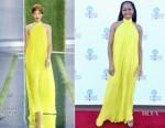 Fashion Blogger Catherine Kallon features Regina King In Cushnie- 'If Beale Street Could Talk' Palm Springs International Film Festival Screening