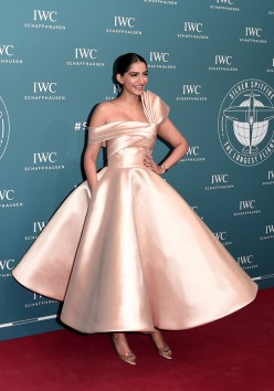 Fashion Blogger Catherine Kallon features Sonam Kapoor In Mark Bumgarner - IWC Schaffhausen at SIHH 2019