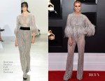 Fashion Blogger Catherine Kallon features Ashlee Simpson In Georges Chakra Couture - 2019 Grammy Awards