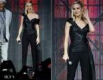Fashion Blogger Catherine Kallon features Brie Larson In Oscar de la Renta - Captain Marvel Talent Tour Fan Event