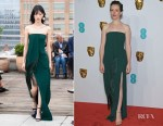Fashion Blogger Catherine Kallon features Claire Foy In Oscar de la Renta - 2019 BAFTAs