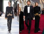 Irina Shayk In Burberry & Bradley Cooper In Tom Ford - 2019 Oscars