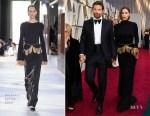 Irina Shayk In Burberry & Bradley Cooper In Tom Ford - 2019 Oscars