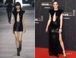 Fashion Blogger Catherine Kallon features Jehnny Beth In Celine - Cesar Film Awards 2019