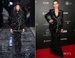 Juliette Binoche In Azzaro Haute Couture - 14th 'Globe De Cristal' Ceremony