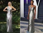Kiki Layne In Atelier Versace - 2019 Vanity Fair Oscar Party