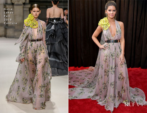 Fashion Blogger Catherine Kallon features Maren Morris In Galia Lahav Couture - 2019 Grammy Awards