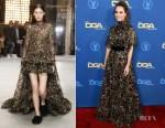 Fashion Blogger Catherine Kallon features Marina de Tavira In Giambattista Valli - 2019 Directors Guild Of America Awards