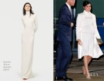 Fashion Blogger Catherine Kallon features Meghan, Duchess of Sussex In Calvin Klein - 'The Wider Earth' Gala Performance
