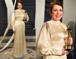 Olivia Colman In Stella McCartney - 2019 Vanity Fair Oscar Party