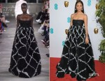 Fashion Blogger Catherine Kallon features Thandie Newton In Valentino - 2019 BAFTA Awards