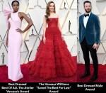 Fashion Critics' 2019 Oscars Red Carpet Roundup