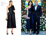 Amal Clooney In Stella McCartney - People's Postcode Lottery Charity Gala